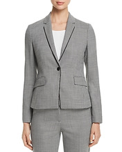 BOSS | Boss Jorita Piped Geo-Print Blazer | Clouty