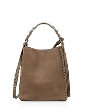 AllSaints | Allsaints Kepi Nubuck Leather Shoulder Bag | Clouty
