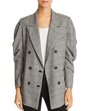 Joie | Joie Tomika Ruched-Sleeve Blazer | Clouty