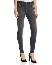 AG | Ag Farrah High Rise Skinny Jeans in Grey Mist | Clouty
