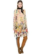 Chloé | Платье Из Шёлкового Шифона С Принтом | Clouty