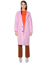 Marni | Полушерстяное Пальто Оверсайз | Clouty
