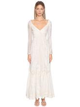 Etro | Платье Из Хлопка И Шелка | Clouty
