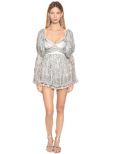 Etro | Платье Из Шелка Жоржет | Clouty