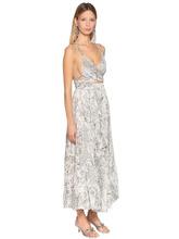 Etro | Платье Из Шелка Жоржет С Принтом | Clouty