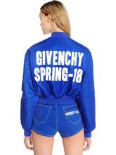 "GIVENCHY | Куртка Бомбер Из Нейлона С Принтом ""Spring 18 | Clouty"