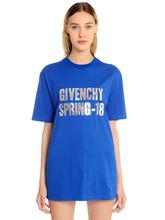 "GIVENCHY | Футболка Из Джерси С Принтом ""Spring 18 | Clouty"