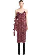 Magda Butrym | Платье Из Шелка Жаккард | Clouty