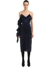 Magda Butrym | Платье Из Шелкового Атласа | Clouty