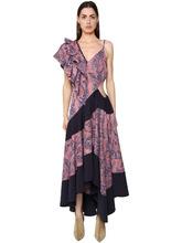 Loewe | Платье Из Хлопка С Принтом | Clouty