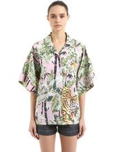 KENZO | Двухсторонняя Хлопковая Рубашка | Clouty