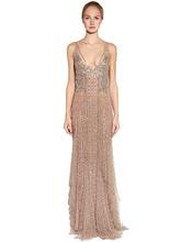 Amen Couture | Платье Из Тюля Стретч | Clouty