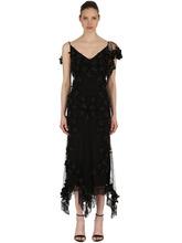 Amen Couture | Платье Из Тюля С Цветами | Clouty
