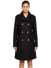 GIVENCHY | Двубортное Шерстяное Пальто | Clouty