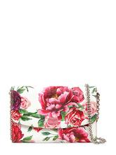 Dolce & Gabbana | Клатч Из Кожи С Цветочным Принтом | Clouty