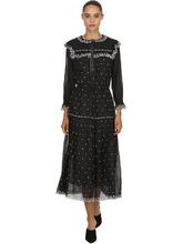 Isabel Marant Étoile | Платье Из Хлопковой Вуали С Вышивкой | Clouty