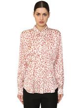Aalto | Атласная Блуза С Принтом | Clouty