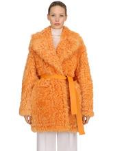 Rochas | Двустороннее Пальто Из Овчины | Clouty