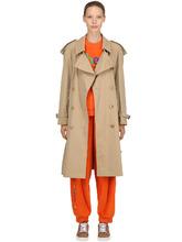 BURBERRY | Пальто-Тренч Из Хлопка | Clouty