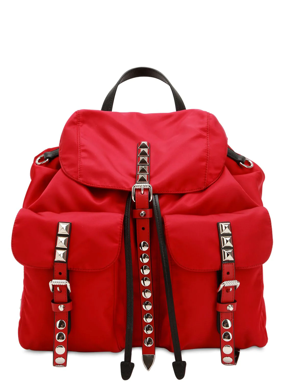 PRADA | Nylon Canvas Backpack | Clouty
