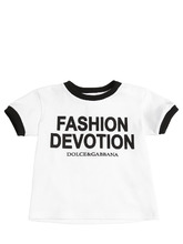 Dolce & Gabbana | Футболка Из Хлопкового Джерси | Clouty