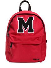 MSGM | Рюкзак Из Нейлона С Аппликацией Логотипа | Clouty