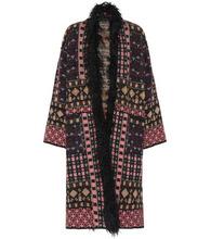 Etro | Faux fur-trimmed coat | Clouty