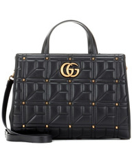 GUCCI | GG Marmont matelasse leather tote | Clouty