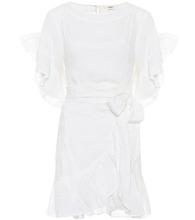 Isabel Marant Étoile | Delicia linen wrap dress | Clouty