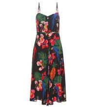 VALENTINO | Printed silk dress | Clouty