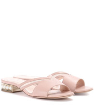 Nicholas Kirkwood | Casati 18 leather sandals | Clouty