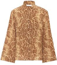 Chloé | Python-printed silk shirt | Clouty
