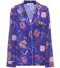 Diane Von Furstenberg | Printed silk top | Clouty