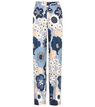 Chloé   Printed cotton trousers   Clouty