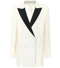 Blaze Milano   Everyday wool crepe blazer   Clouty