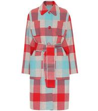 Bottega Veneta | Plaid wool and cashmere coat | Clouty
