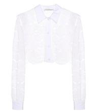 Philosophy di Lorenzo Serafini | Cropped lace shirt | Clouty