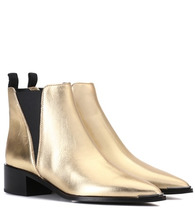 Acne Studios | Jensen metallic leather ankle boots | Clouty