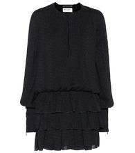SAINT LAURENT   Jacquard minidress   Clouty