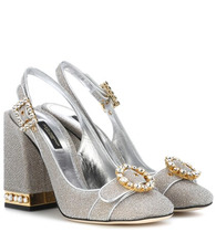 Dolce & Gabbana | Crystal-embellished pumps | Clouty