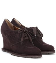 Bottega Veneta | Suede Derby shoes | Clouty
