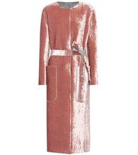 Bottega Veneta | Belted velvet coat | Clouty