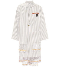 Loewe | X Paula's Ibiza embellished cotton-blend coat | Clouty
