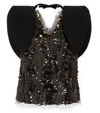 Rejina Pyo | Riona sequinned top | Clouty