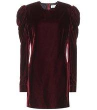 SAINT LAURENT | Velvet dress | Clouty