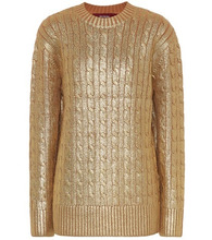 Sies Marjan | Metallic wool sweater | Clouty