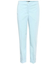 SALVATORE FERRAGAMO | Cotton poplin trousers | Clouty