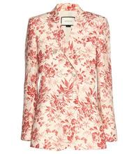 GUCCI | Floral-printed linen blazer | Clouty