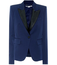 Stella McCartney | Wool tuxedo blazer | Clouty