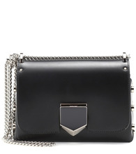 Jimmy Choo   Lockett Petite leather shoulder bag   Clouty